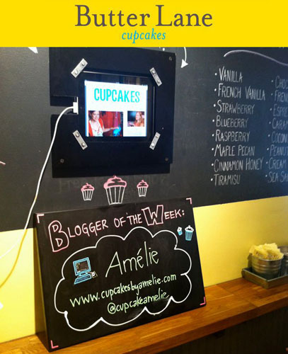 Amelie - Blogger of the Week at Butter Lane