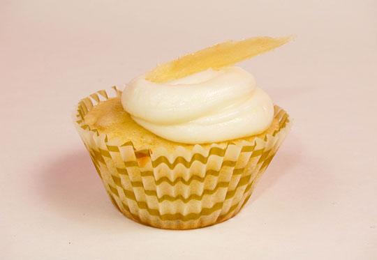 ginger lemon cupcake