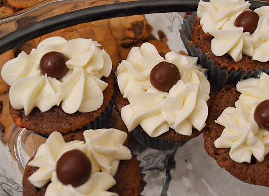 Whoppers Cupcakes