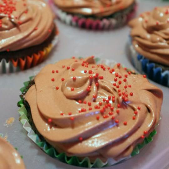 chocolate habanero cupcakes