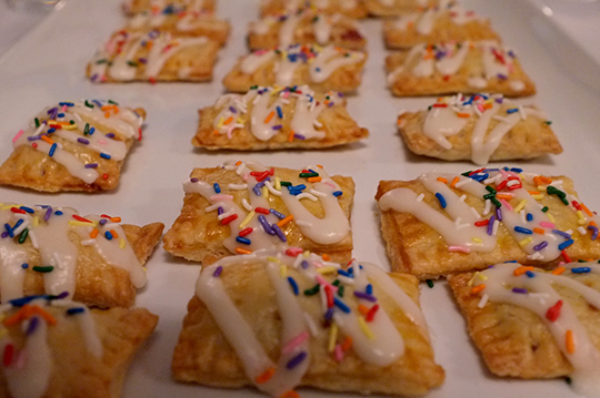 Mini Strawberry Pop Tarts