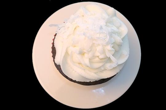coconut cupcakecoconut cupcake
