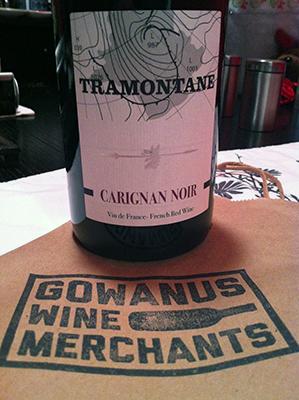 tramontane wine