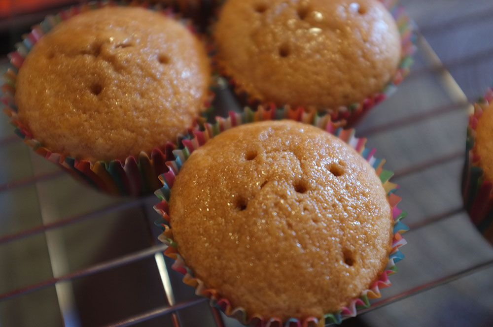 Baileys Soaked Cupcakes