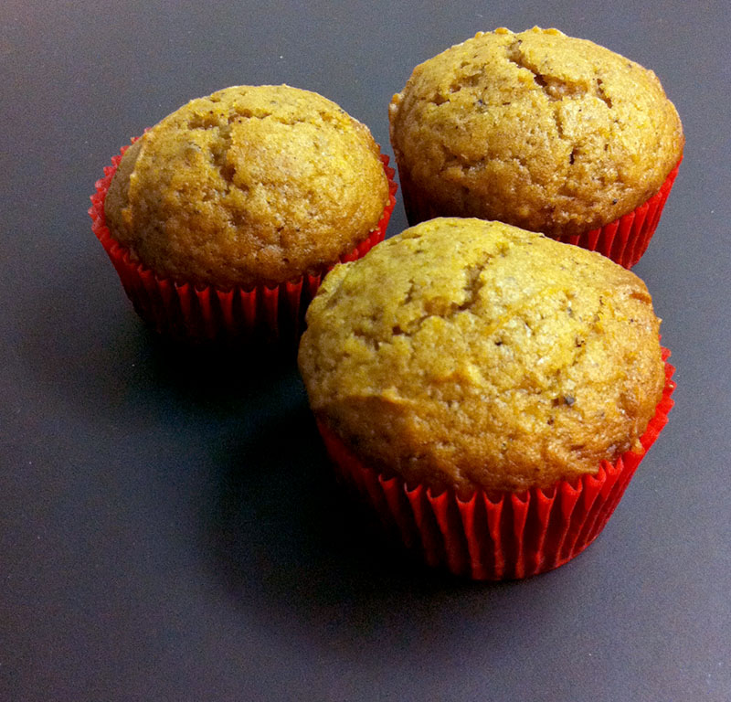 Fresh Pumpkin Muffins