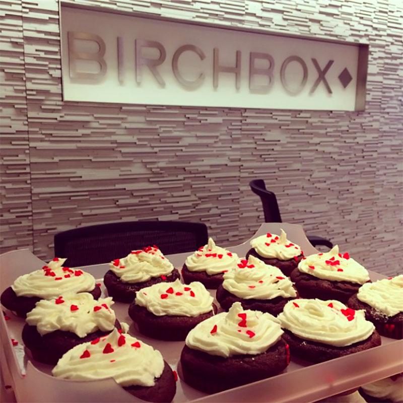 Birchbox Charity Bakesale