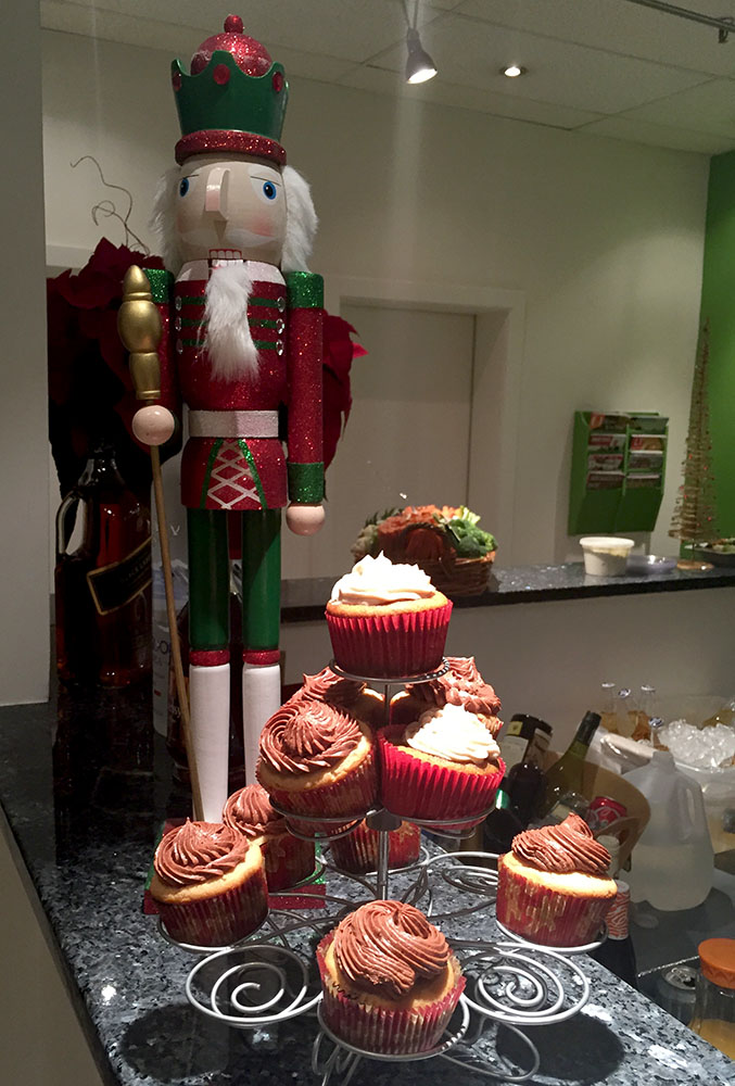 Nutcracker with Cupcakes