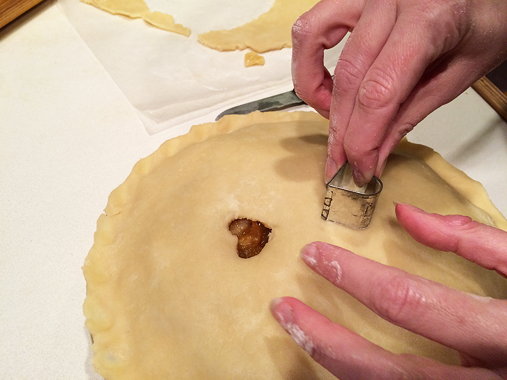 Cut Out Pie Crust