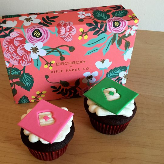 Birchbox Cupcakes