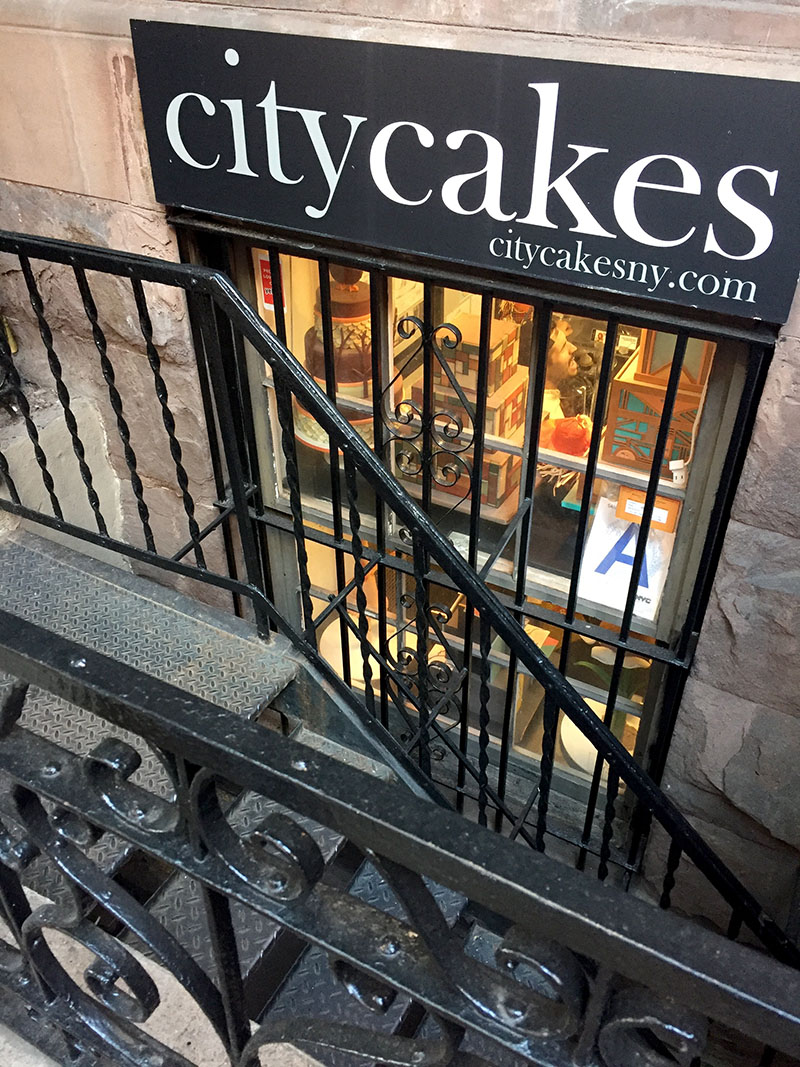 City Cakes Storefront