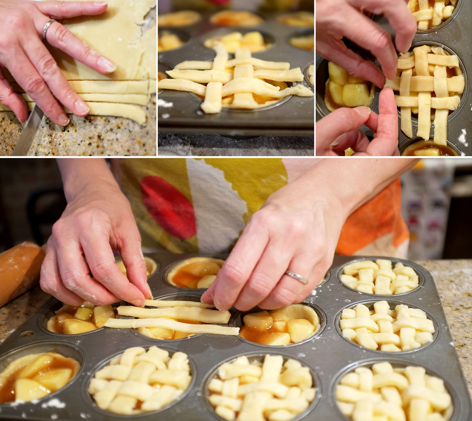 Amelie Weaving Pie Lattice