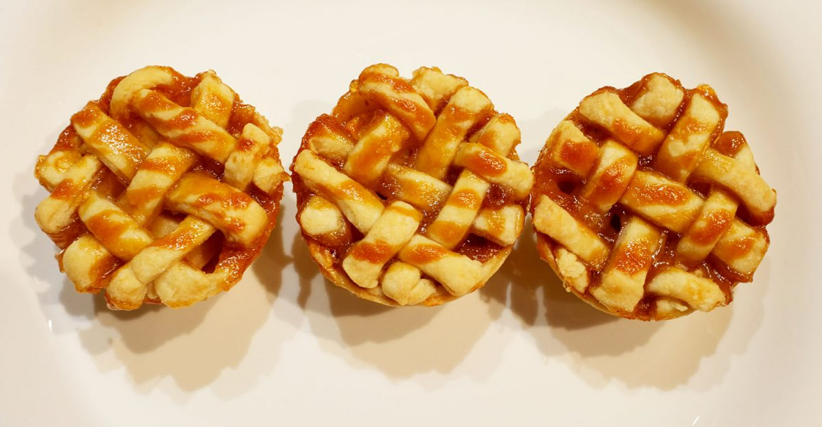 Caramel Apple Mini Pies - Photo by Jason Walker-Yung
