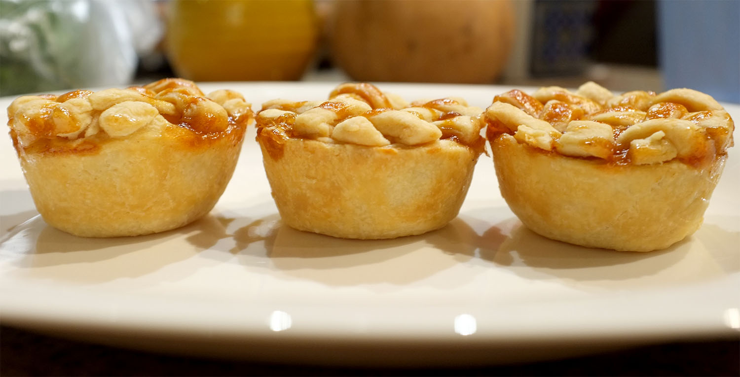 Mini Caramel Apple Pies - Photo by Jason Walker-Yung