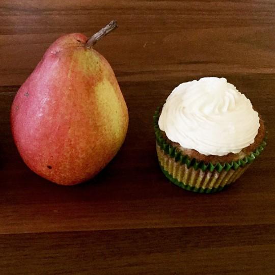 Pear Cupcakes