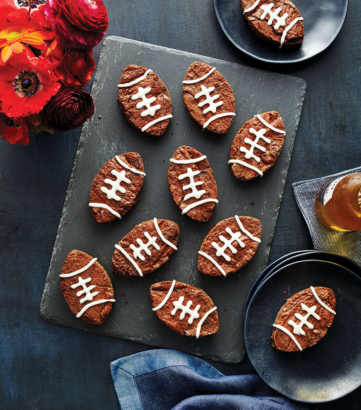 Football Brownies - InStyle Parties