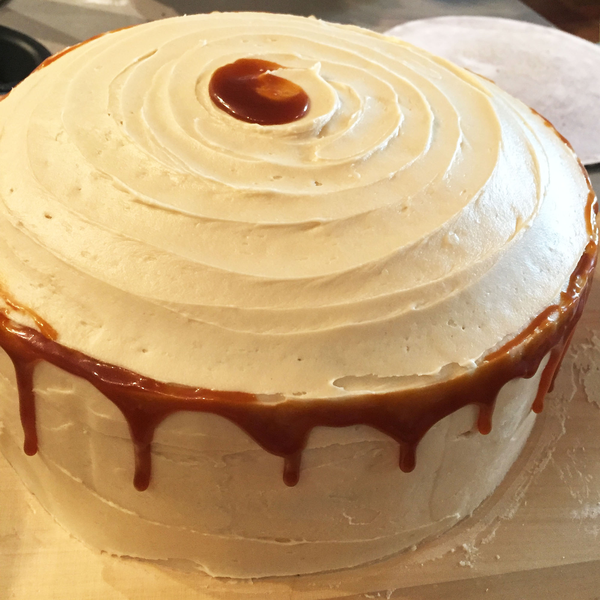 Caramel Chocolate Cake by Amelie