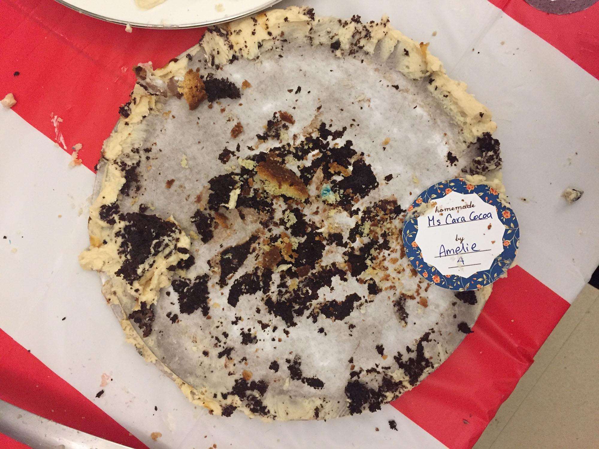 Cake - All gone!